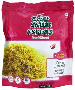 Grand Sweets Omapodi 200g Crispy