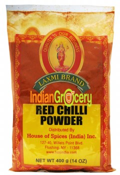 Laxmi Red Chilli Pwdr 400g