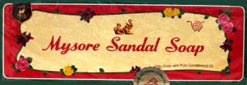 Mysore Sandal Soap 150gms 3pack