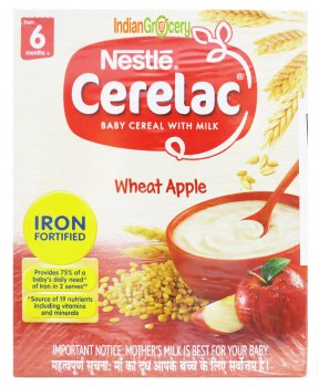 Cerelac Stage 1 Wheat Apple 300g