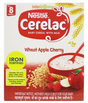 Cerelac Stage 2 Wheat Apple Cherry 300g