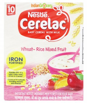 Cerelac Stage 3 Wheat Rice Mix Fruit 300g