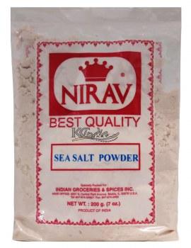 Nirav Sea Salt Powder 200g
