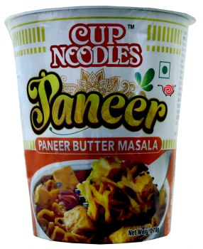 Nissin Paneer Butter Masala Cup Noodles 70g