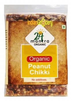 24 Mantra Organic Peanut Chikki 100g