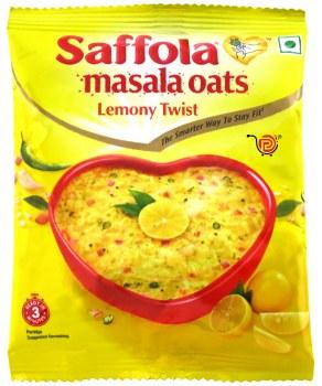 Saffola Lemony Twist Oats 39g