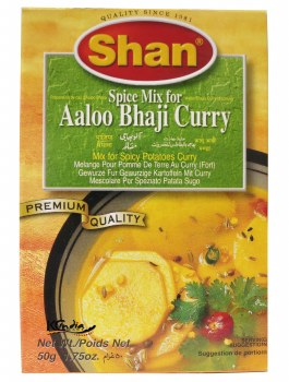 Shan Aaloo Bhaji Curry Mix 50g