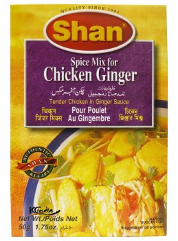 Shan Ginger Chicken Masala 50g