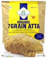 24 Mantra Organic 7 Grain Atta 1kg