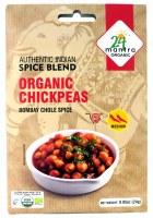 24 Mantra Organic Chickpeas Spice 22g