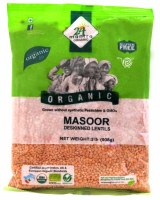 24 Mantra Organic Masoor Whole 2lb