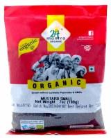 24 Mantra Organic Smal Mustard Seeds 200g
