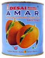 Amar Mango Pulp Sweetened 850g Ratnagiri Blue