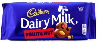 Cadbury Fruit & Nut 110g Dairy Milk