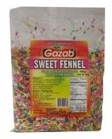 Gazab Sugar Coated Fennel Seeds 400g