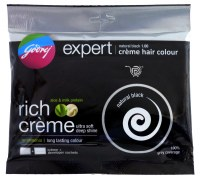 Godrej Black Hair Colour 20g Expert Creme