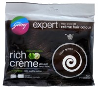 Godrej Black Brown Hair Colour 20g Expert Creme