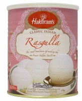 Haldiram's Rasgulla 1kg Can