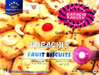 Karachi Bakery Fruit Biscuits 400g
