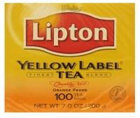 Lipton Yellowlabel 100 Teabags