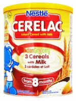 Nestle Cerelac 3 Cereals 400g