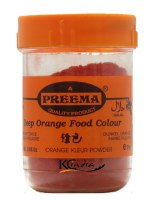 Preema Orange Food Color 25g