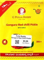 Pulla Reddy Gongura Red Chilli Pickle 300g
