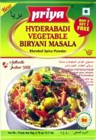 Priya Hyderabadi Veg Biryani 100g