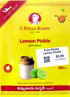 Pulla Reddy Lemon Pickle 300g