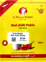 Pulla Reddy Red Chilli Pickle 300g