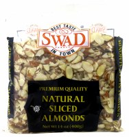 Swad Almond Sliced Natural 1lb