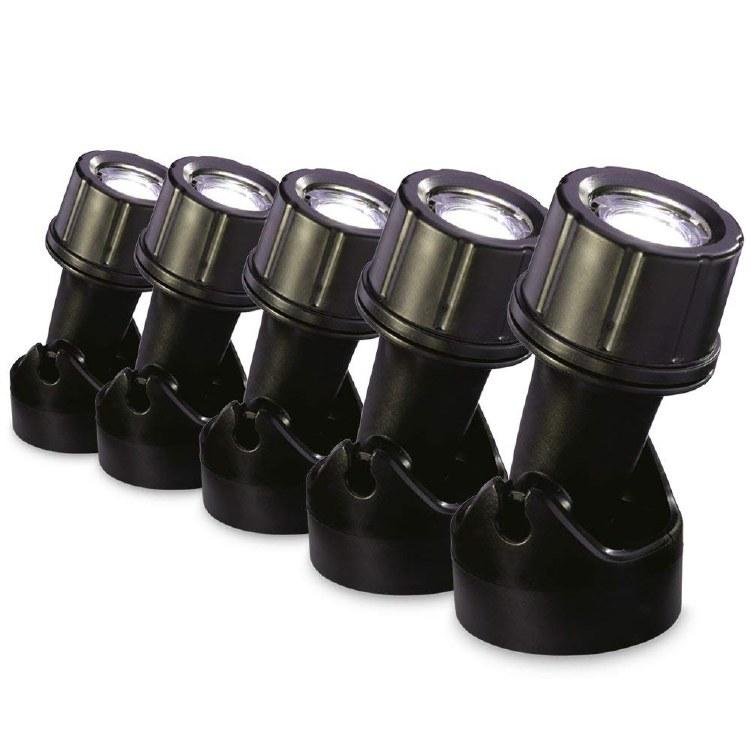 BLAGDON POND LED LIGHTS  5x 1w