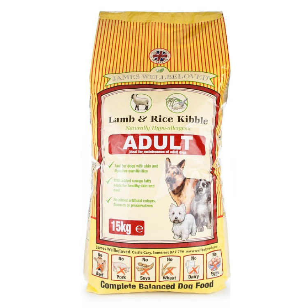 J/WELL ADULT LAMB/RICE 15kg
