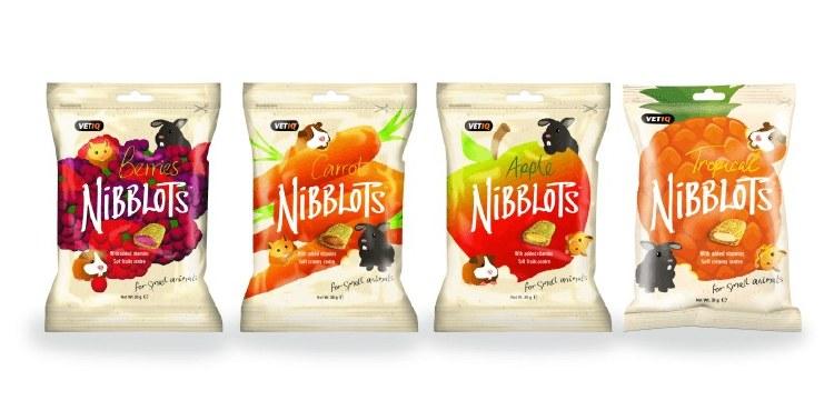 NIBBLOTS SMALL ANIMAL CARROT T