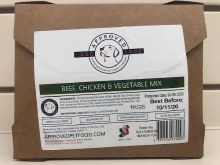 APPROVED BEEF/CHICK/VEG  1Kg