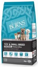 BURNS ADULT SMALL DOG 6Kg