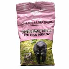 NAT MENU CAT TREATS CHIC 60G