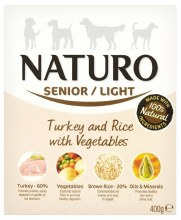 NATURO SENIOR TURKEY  400g