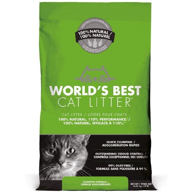 WORLD/B CAT LITTER 6.35KG