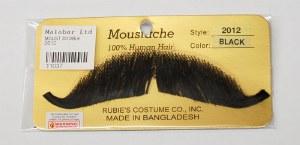 Handlebar Moustache - Black