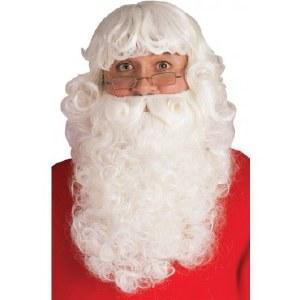 Santa Wig & Beard Set - Deluxe