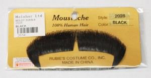 Winchester Moustache - Black