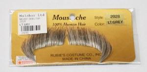 Winchester Moustache - Light Grey