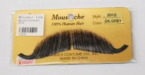 Handlebar Moustache - Dark Grey