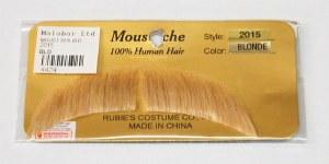 Short Arched Moustache - Blond