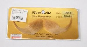 French Handlebar Moustache - Blonde