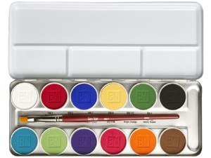 Magicake Face Paint Palette 12 Colours