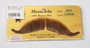 Handlebar Moustache - Light Brown