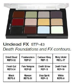 Undead FX Creme Palette