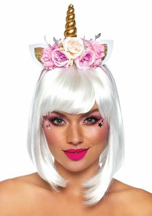 Floral Unicorn Headband